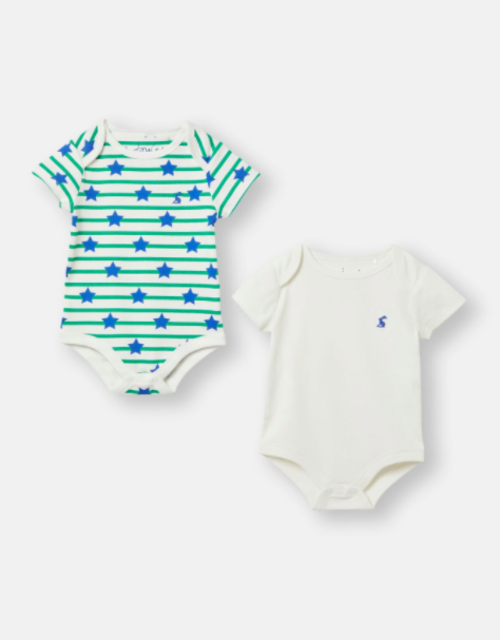 Joules Snazzy 2-Pack Printed Bodysuits