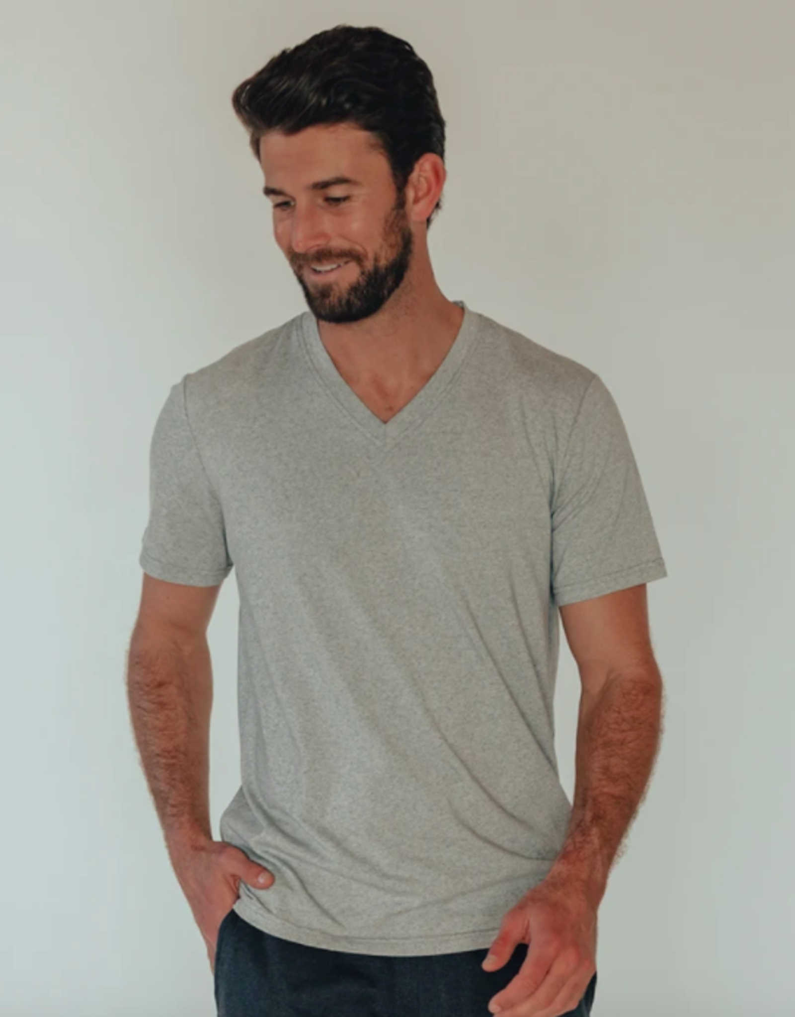 The Normal Brand Active Puremeso V-neck T