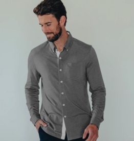 The Normal Brand LS Active Puremeso Buttondown