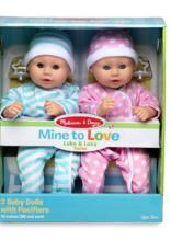 Melissa & Doug Mine to Love- Luke & Lucy