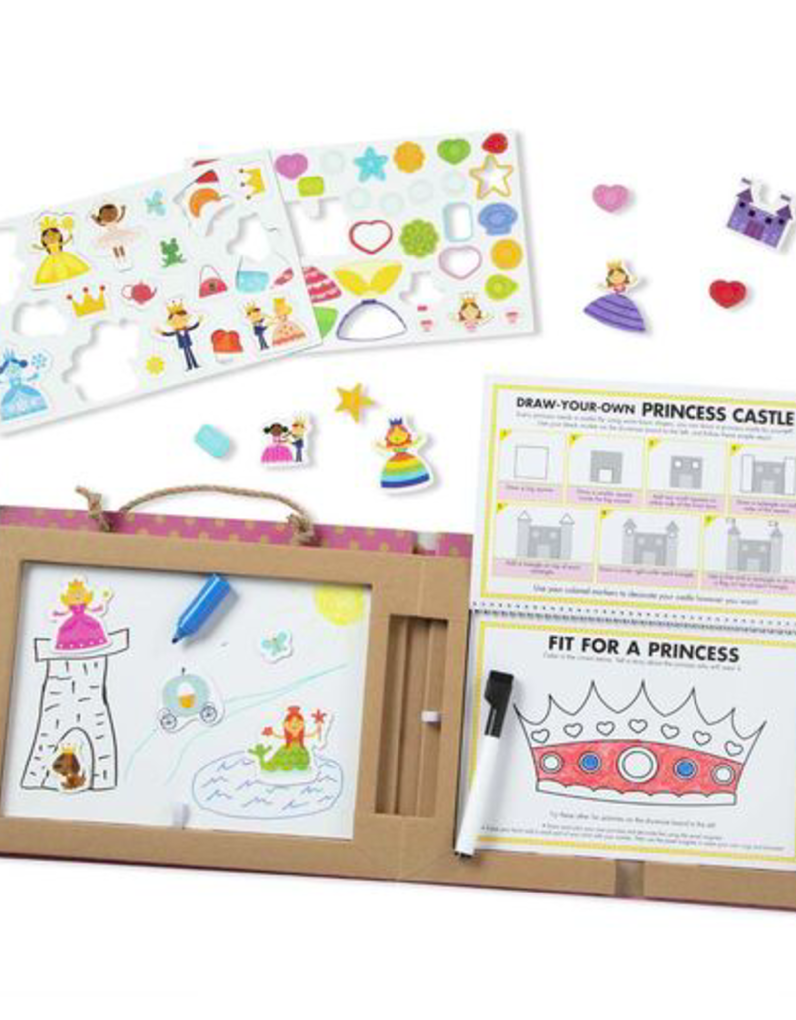 Melissa & Doug Play, Draw, Create - Princess