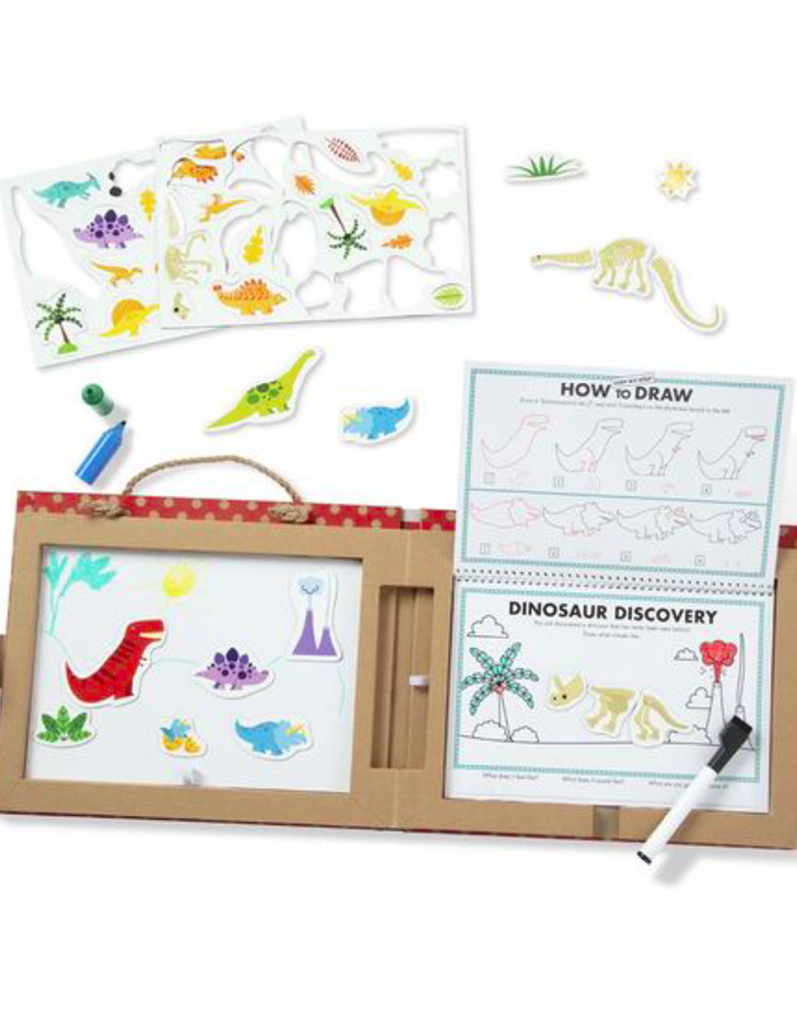 Melissa & Doug Play, Draw, Create -Dinosaurs
