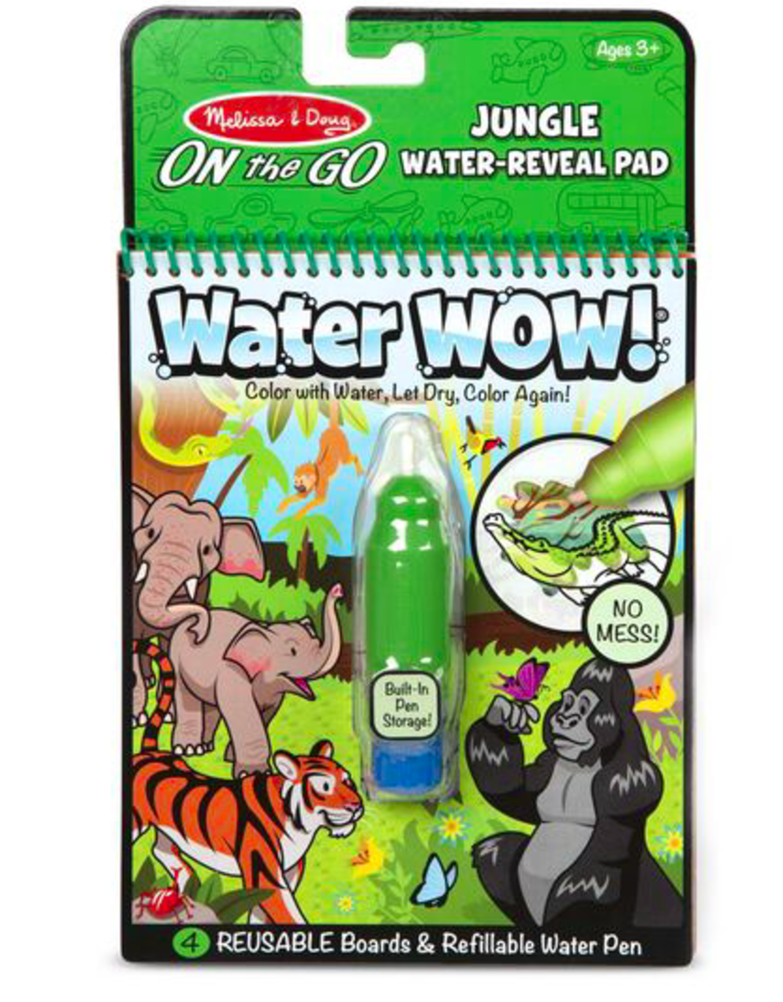 Melissa & Doug Water Wow- Jungle Water