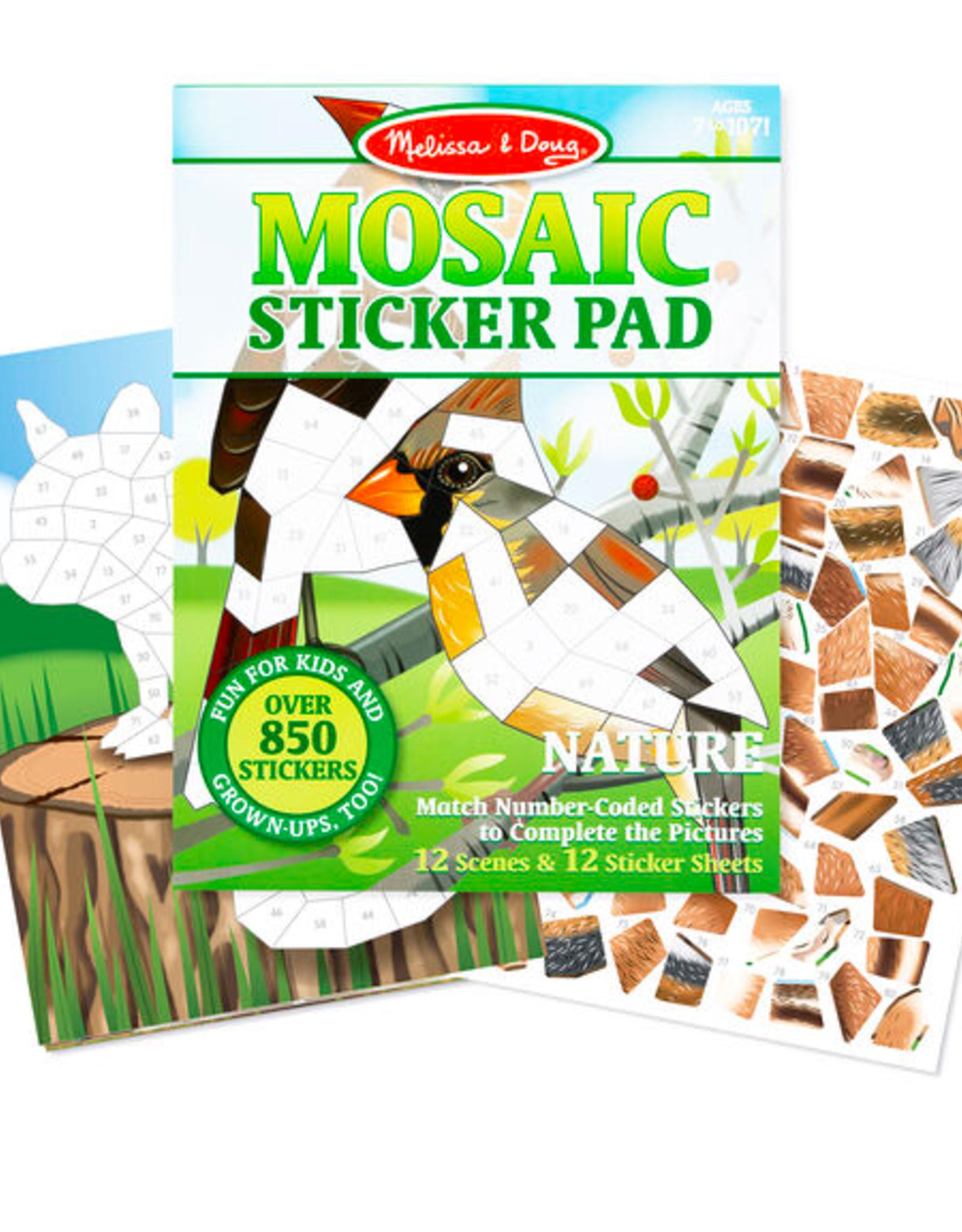 Melissa & Doug Mosaic Sticker Pad - Nature