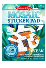 Melissa & Doug Mosaic Sticker Pad - Ocean