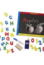 Melissa & Doug Magnetic Chalkboard / Dry-Erase Board