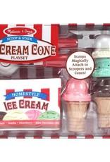 Melissa & Doug Scoop & Stack Ice Cream Cone Play Set