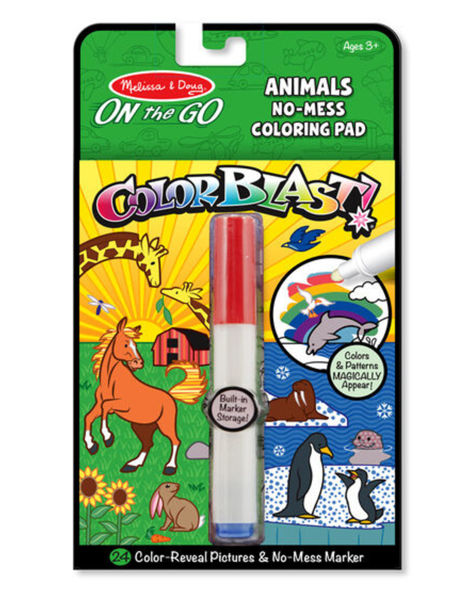 Melissa & Doug Colorblast-Animals