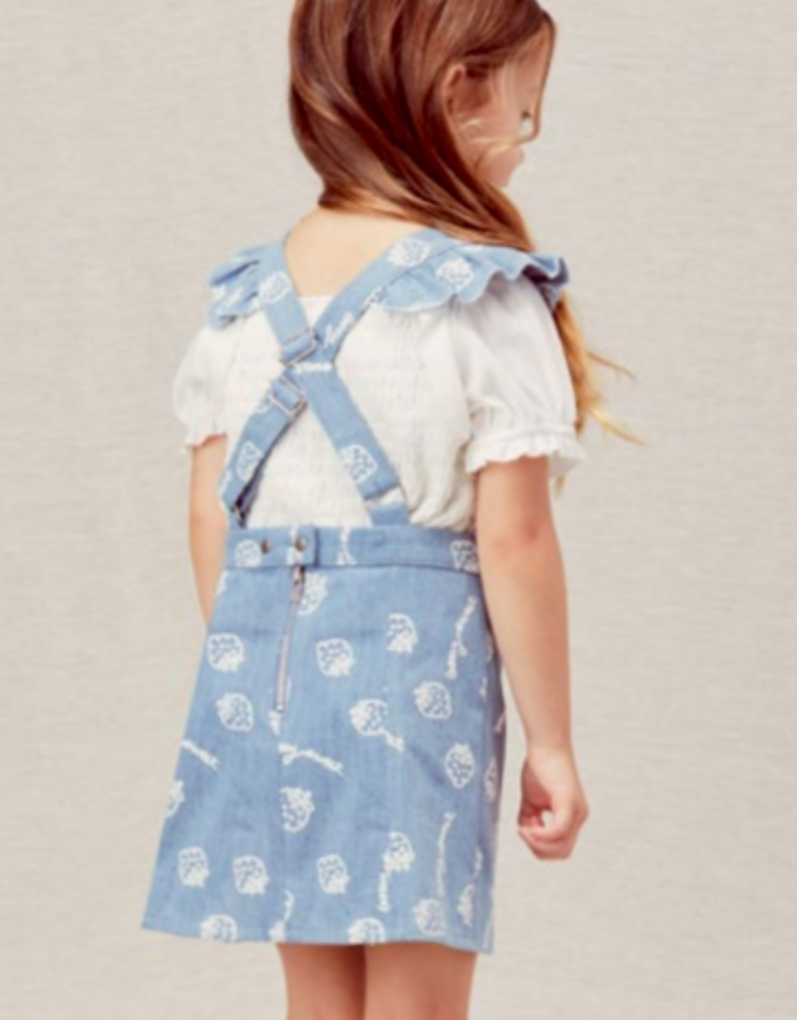 Lil Lemons SWEET OVERALL DRESS