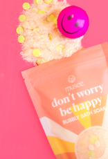 Musee Soap Don't Worry Be Happy Bubbly Bath Soak