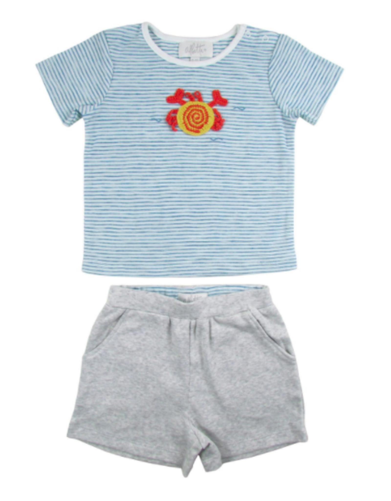 Albetta Crochet T & Shorts