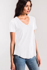 Z Supply Airy Slub SS V-Neck T