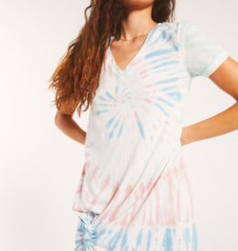 Z Supply Tie-Dye Side Knot Dress