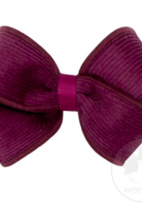 Wee Ones Small Corduroy Overlay Bow