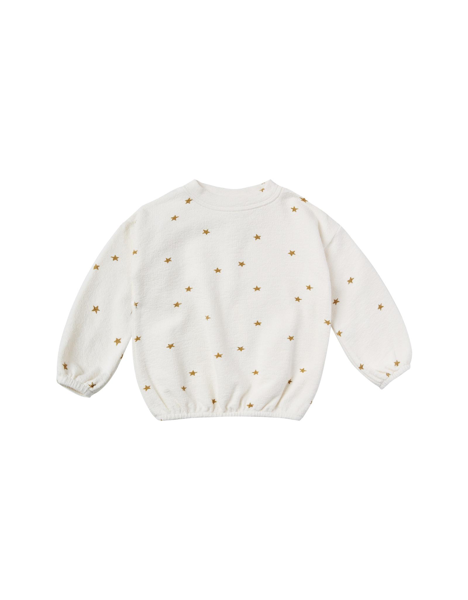 Rylee + Cru Star Slouchy Pullover