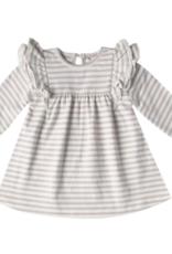 Quincy Mae Longsleeve Flutter Dress