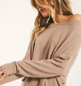 Z Supply Lelia Rib Long Sleeve