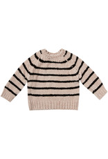 Rylee + Cru Striped Chenille Sweater