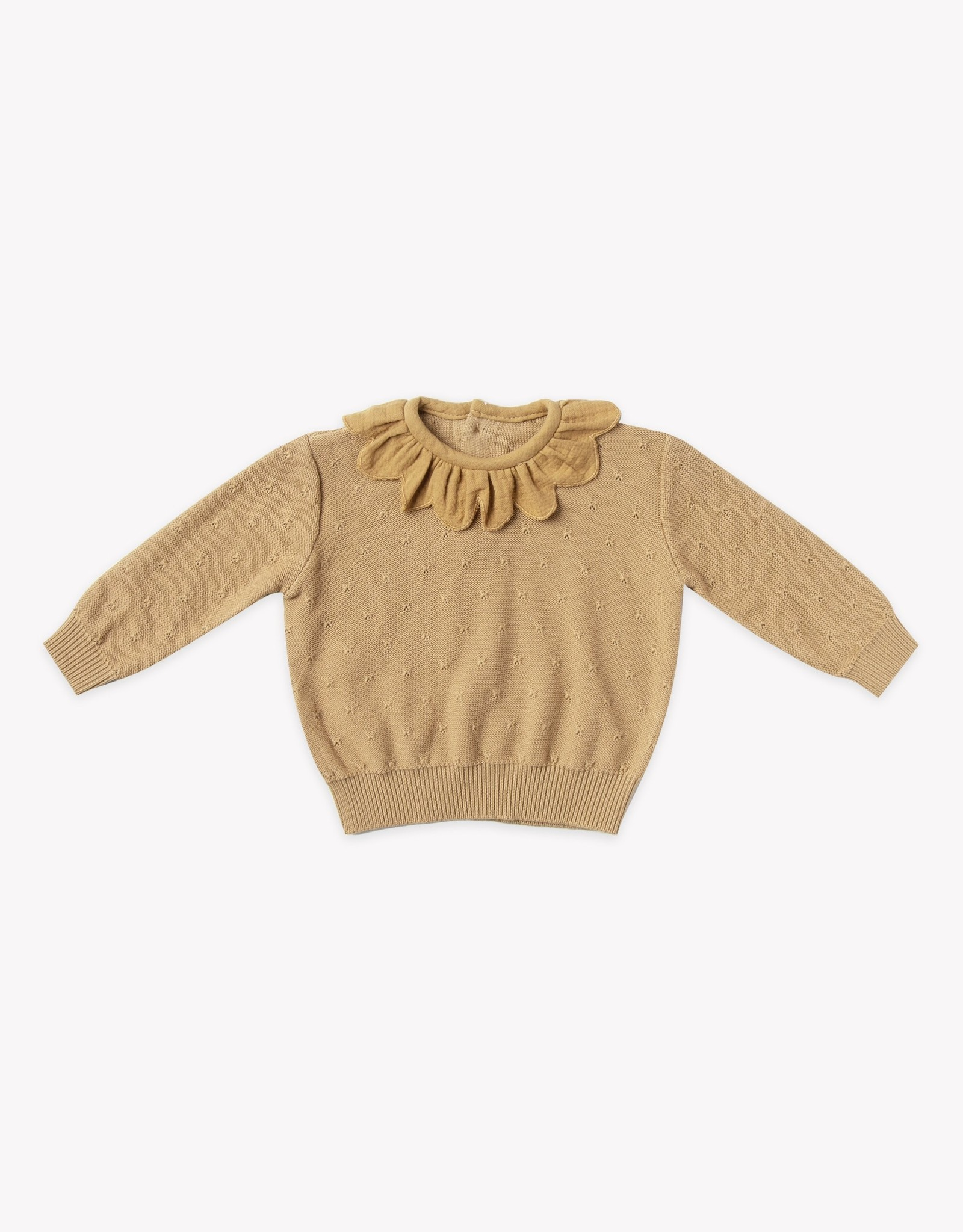 Quincy Mae Petal Knit Sweater