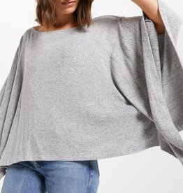 Z Supply Ruby Marled Poncho