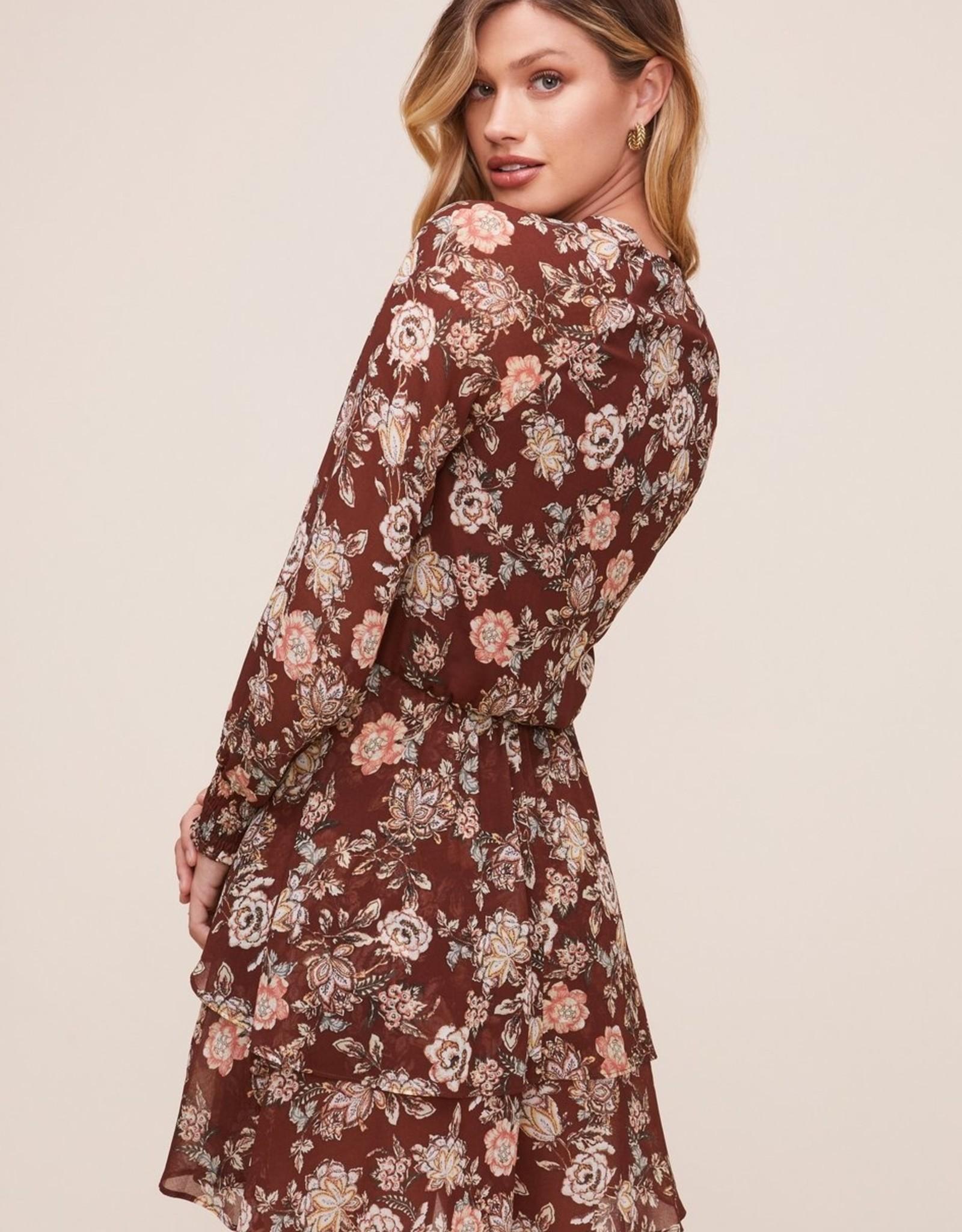ASTR the Label Scarlet Floral Dress