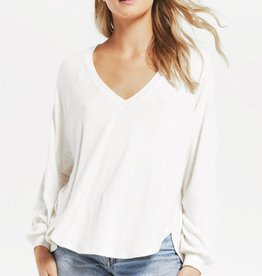 Z Supply Plira Slub Sweater Top
