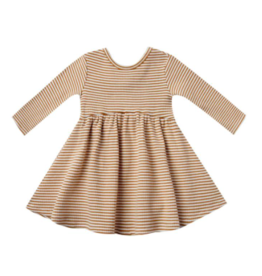 Quincy Mae Ribbed Longsleeve Dress