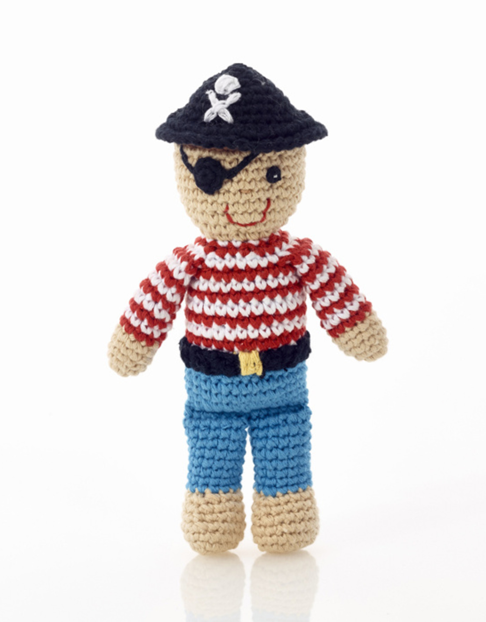 Pebble Pirate Rattle