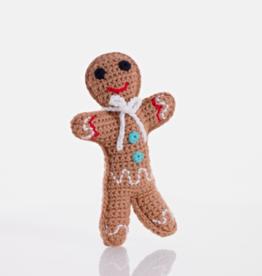 Pebble Gingerbread Rattle
