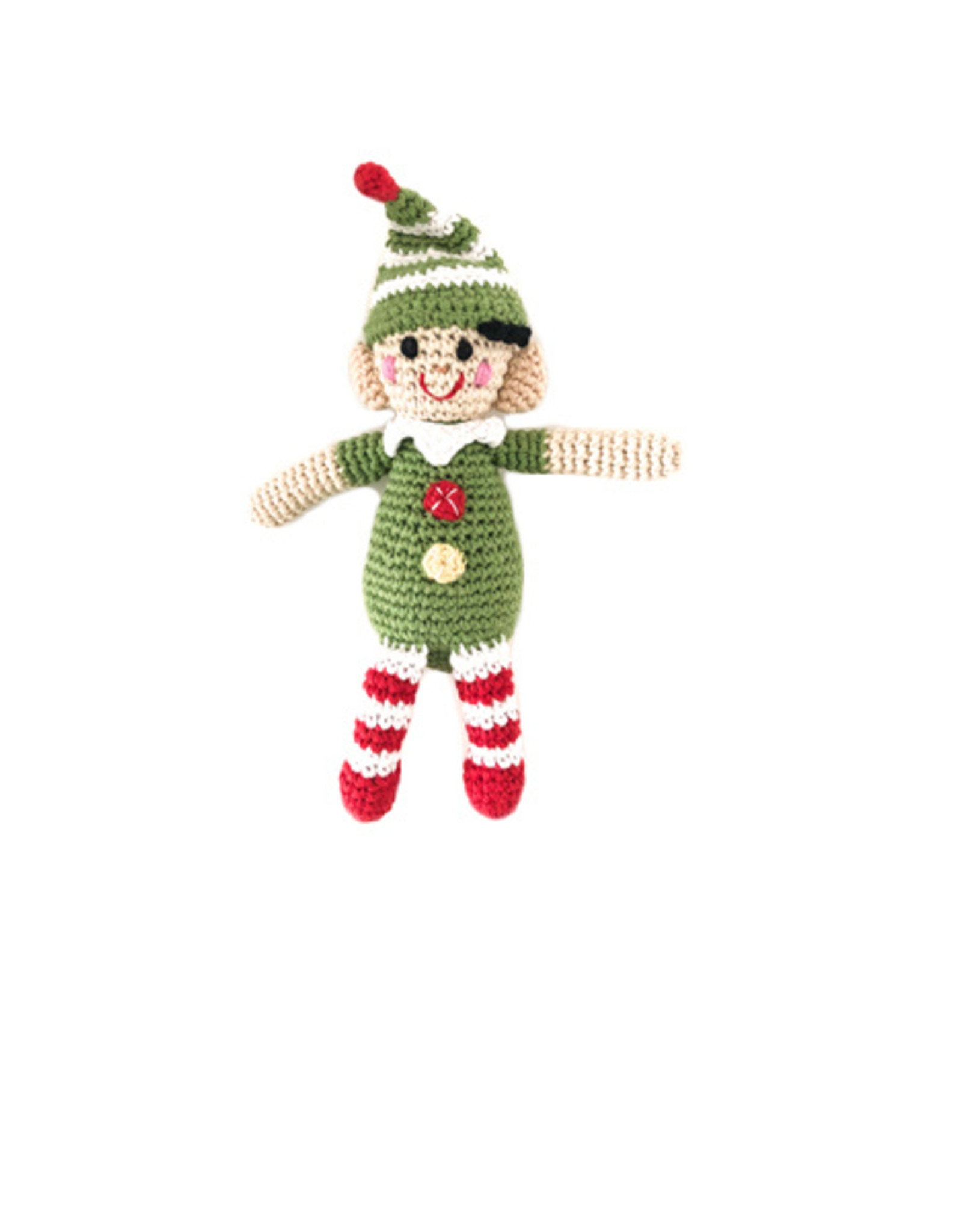 Pebble Elf Rattle