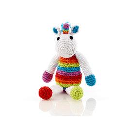 Pebble Unicorn Rattle