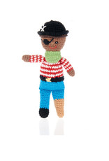 Pebble Peg Leg Pirate Rattle
