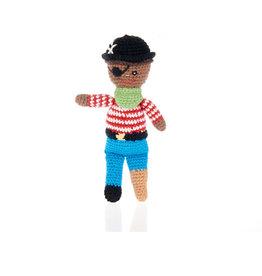 Pebble Peg Leg Pirate Rattle