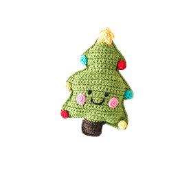 Pebble Christmas Tree Rattle
