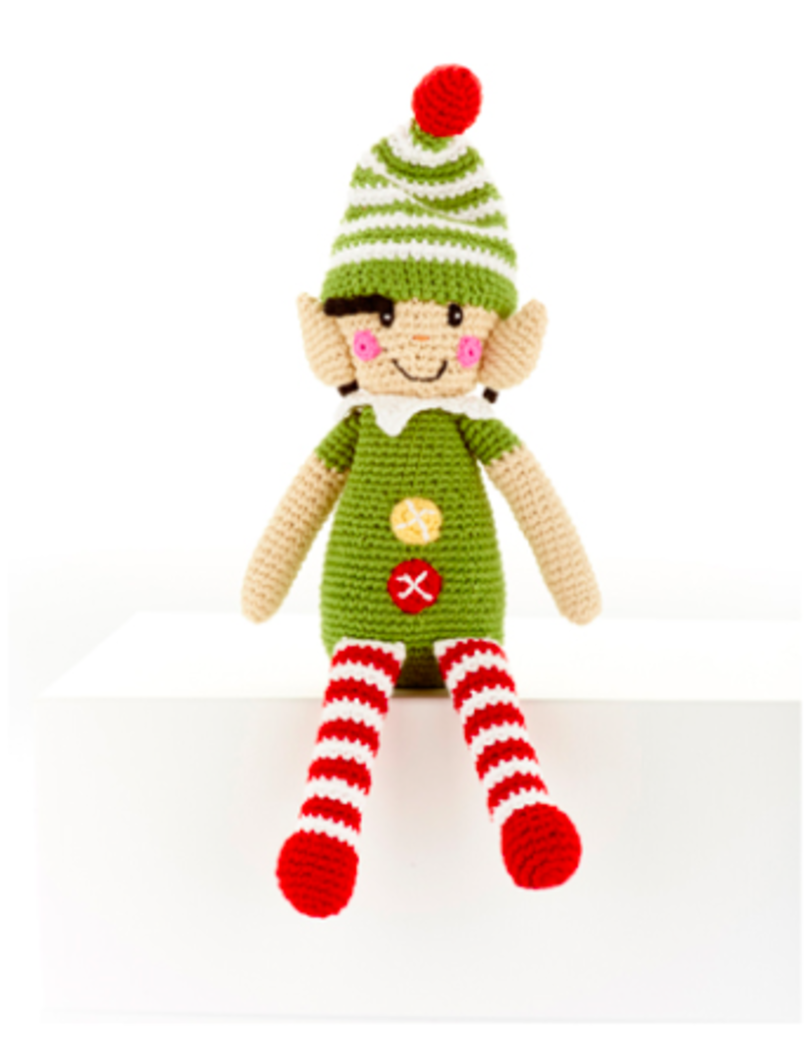 Pebble Elf Rattle