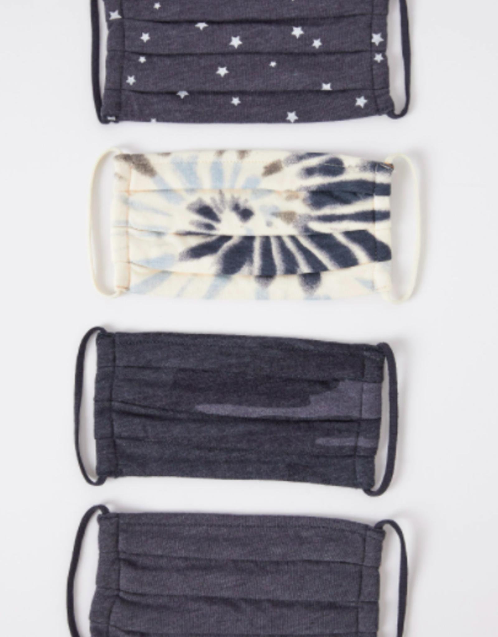 Z Supply Tie-Dye Mask 4 Pack