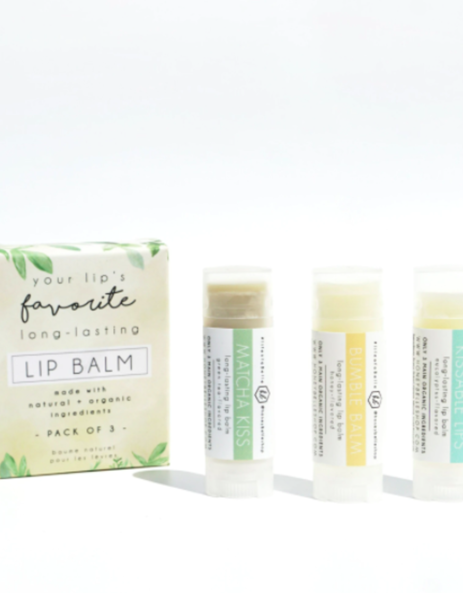 Honey Belle Lip Balm Kit