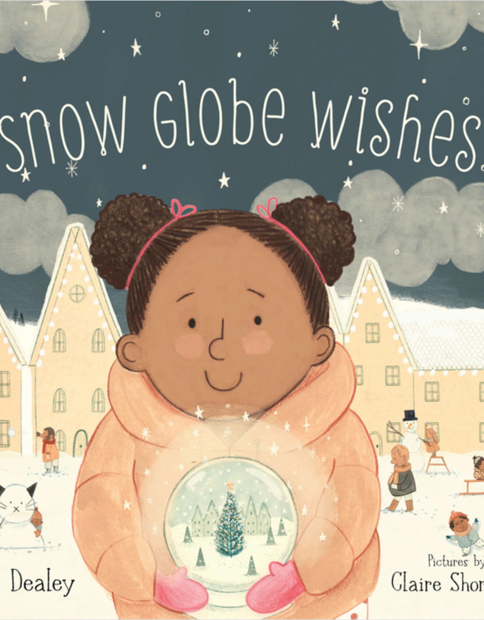 Sleeping Bear Snow Globe Wishes