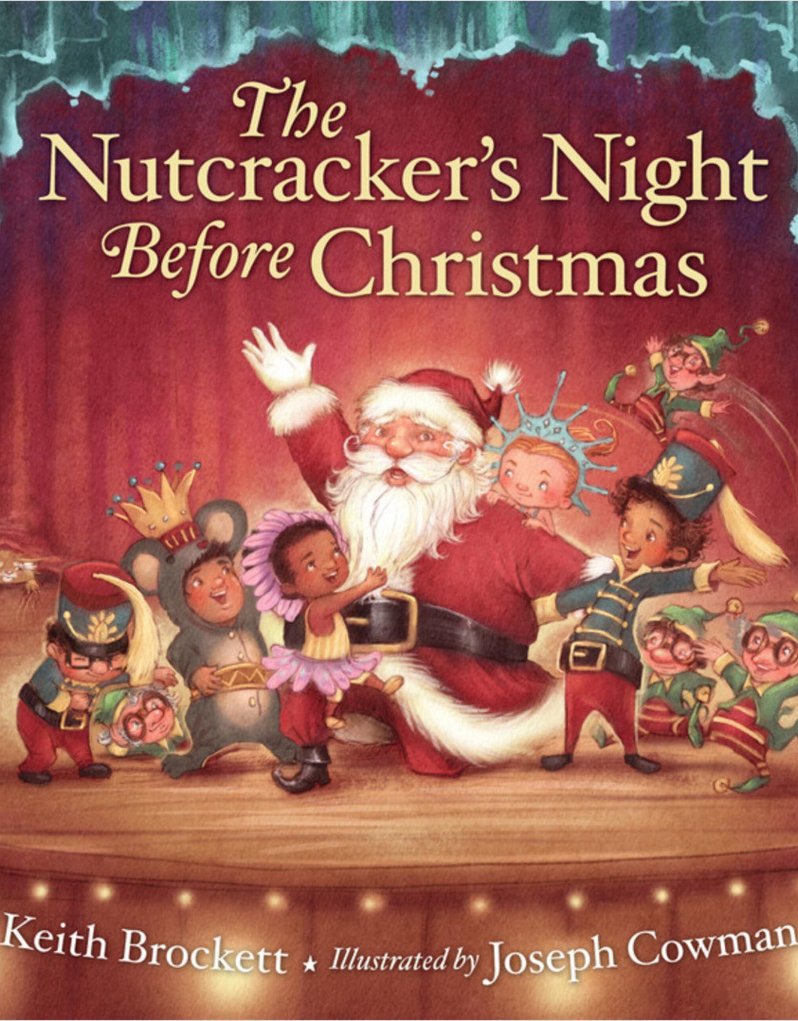 Sleeping Bear The Nutcracker's Night Before Christmas