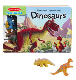 Melissa & Doug Play Along - Dinosaurs