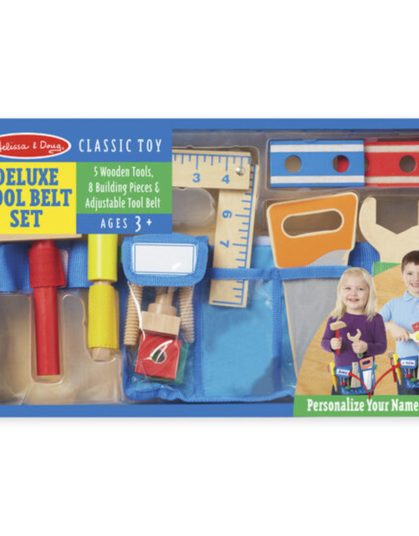 Melissa & Doug Deluxe Tool Belt Set