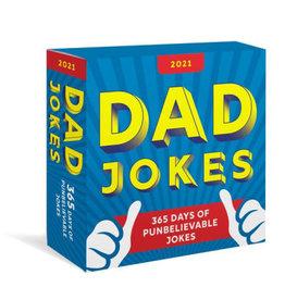 Sourcebooks 2021 Dad Jokes Boxed Calendar