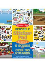 Melissa & Doug Reusable Sticker Pad-Vehicles