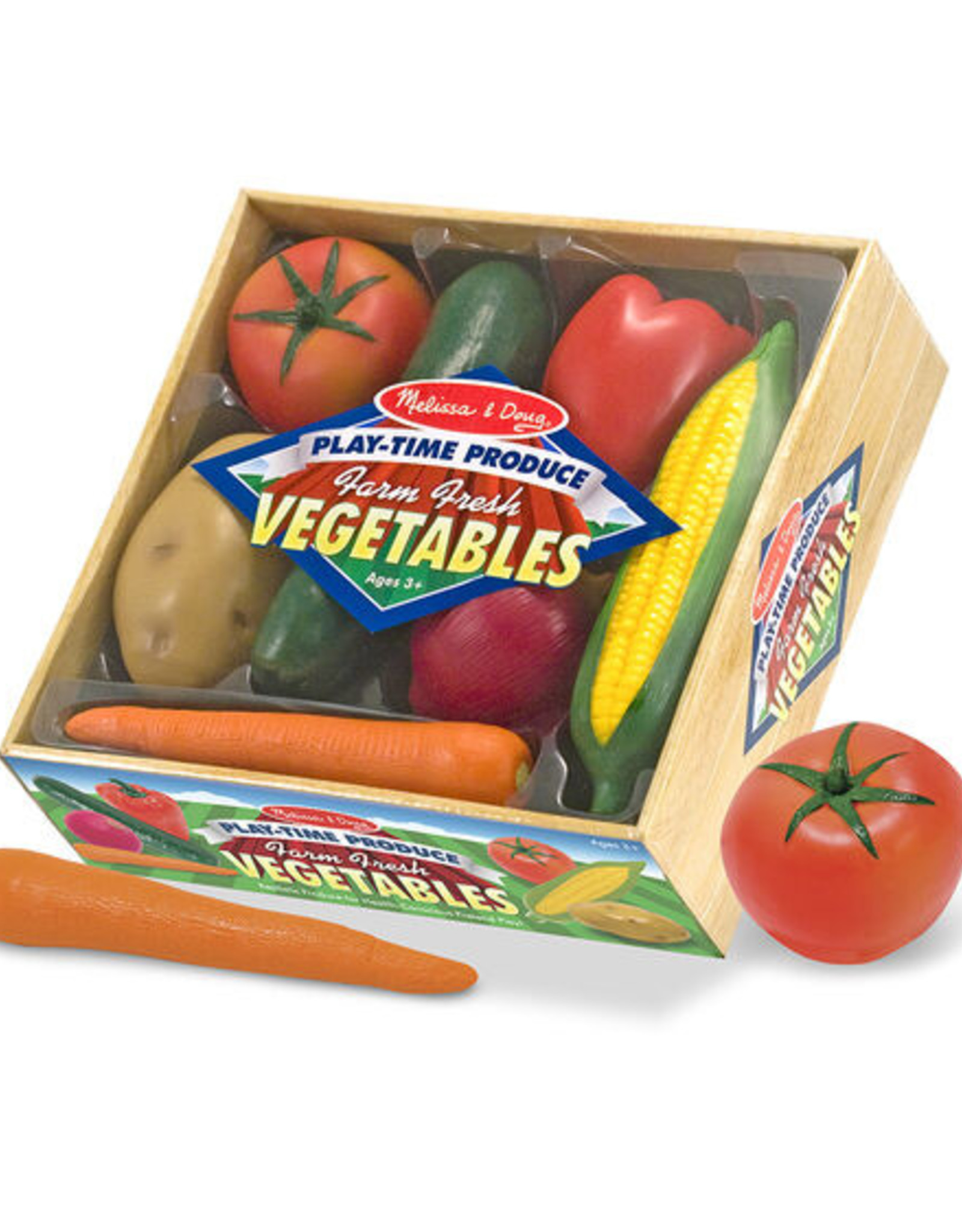 Melissa & Doug Play-Time Produce Vegetables