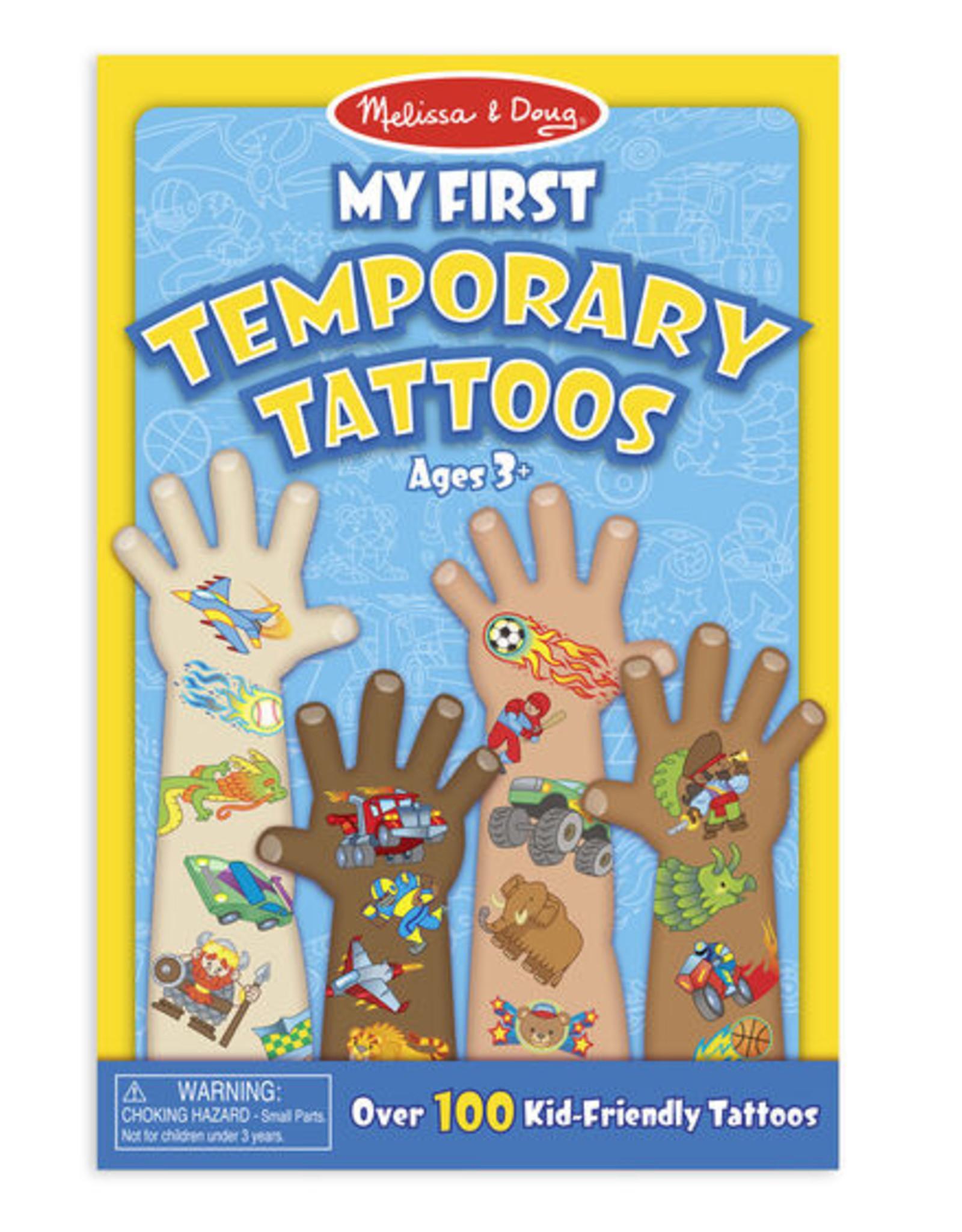 Melissa & Doug My First Temporary Tattoos-Blue