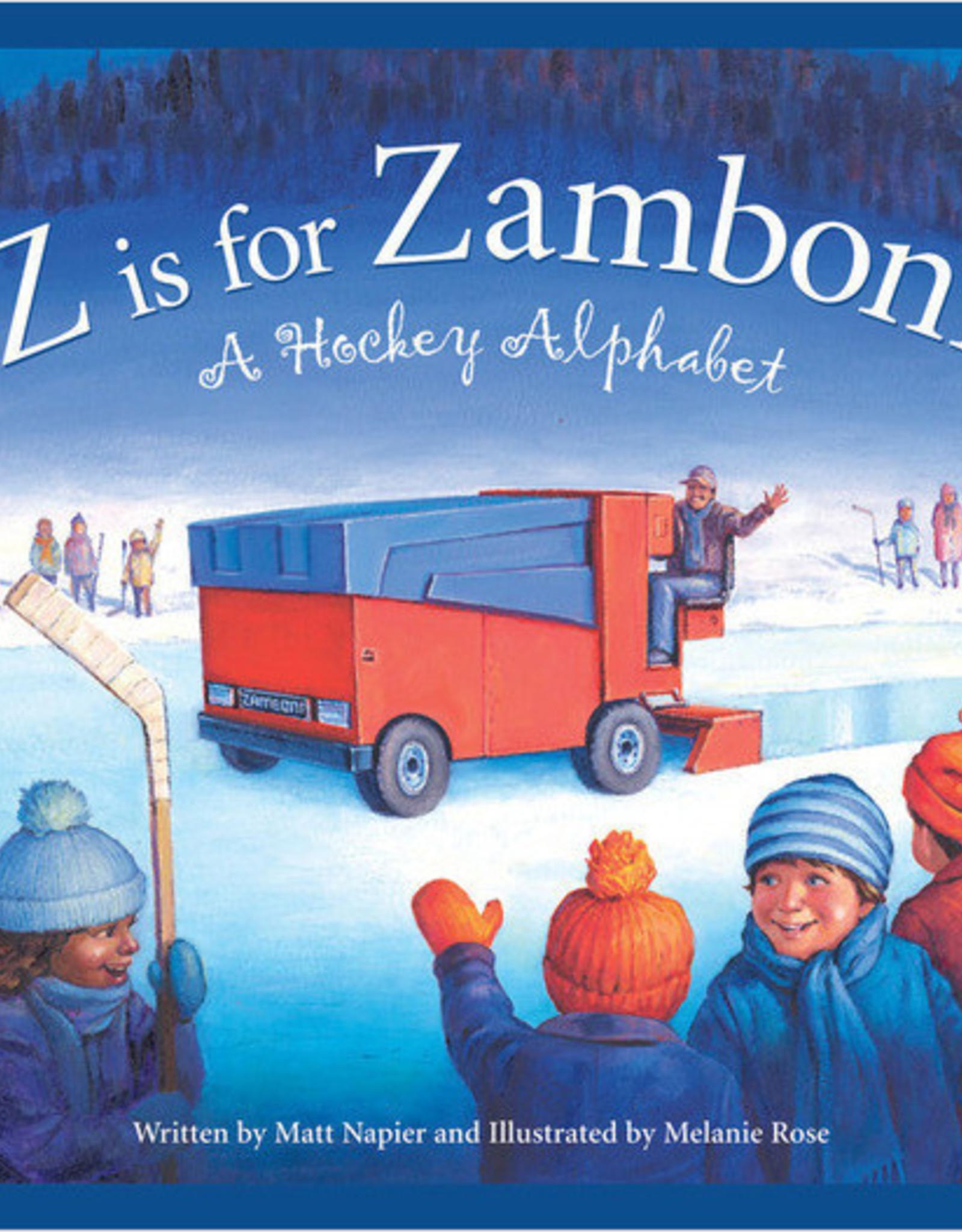 Sleeping Bear Z is for Zamboni: A Hockey Alphabet board book