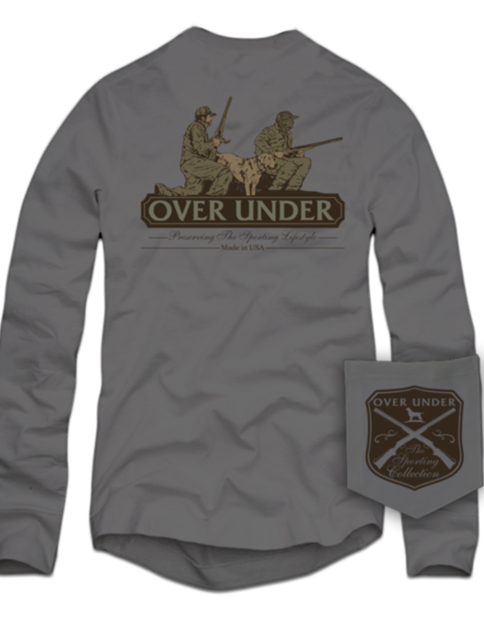Over Under L/S Man's Best Friend