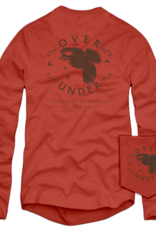 Over Under L/S Quail Logo