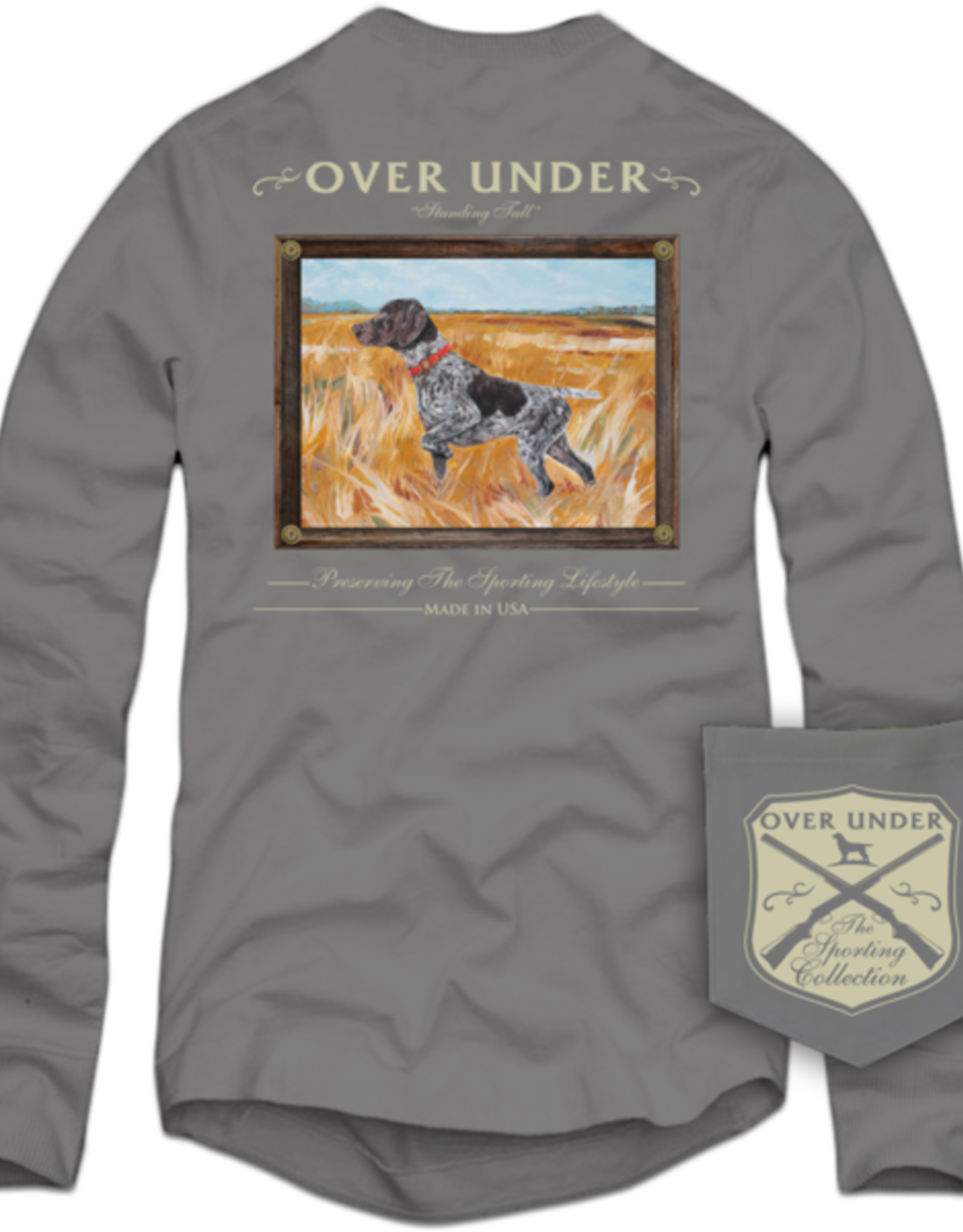 Over Under L/S Standing Tall