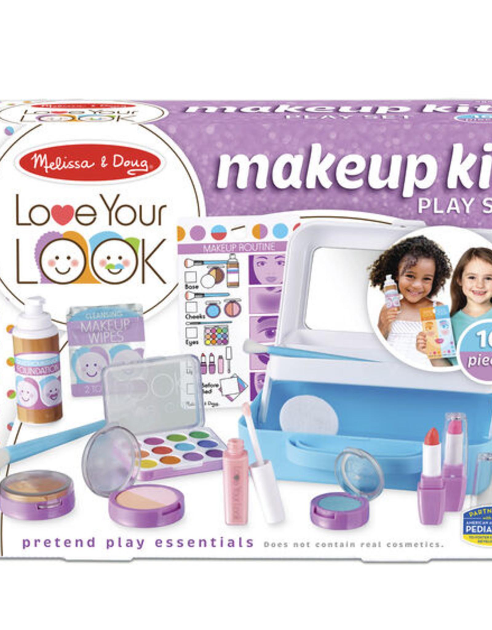 Melissa & Doug LOVE YOUR LOOK - Makeup Kit Play Set